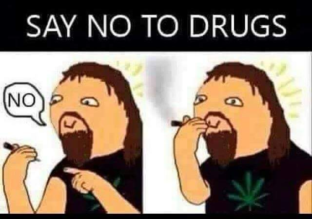 """Say """"No"""" to drugs"""
