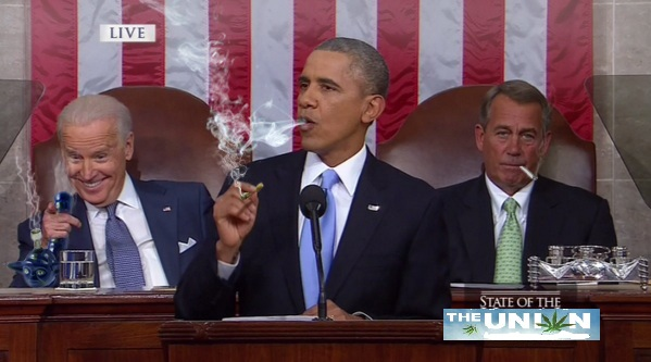 president obama smoking weed