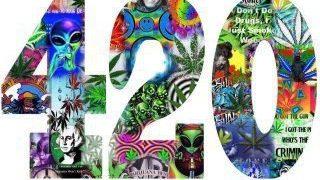 420 montage collage logo