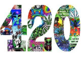 420 montage collage logo