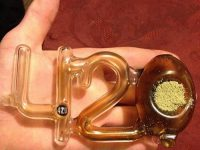420 shaped glass pipe