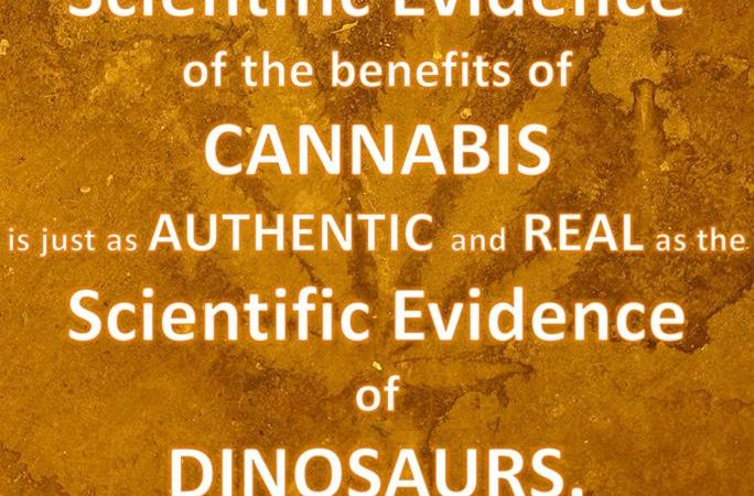 Medical Cannabis & Dinosaurs are REAL