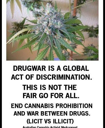 Drug War = Discrimination.