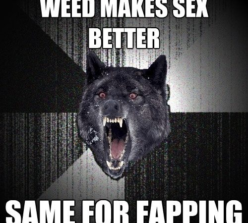 Weed Makes Sex Better…Same For Fapping – Insanity Wolf