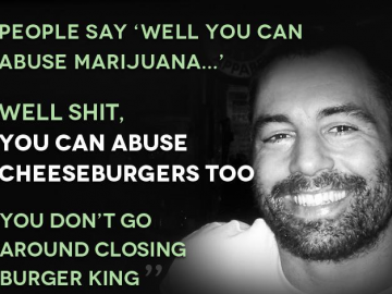 quote joe roagn cheeseburgers abuse
