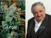 President Uruguay Jose Mujicai hero.
