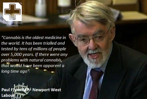 MP Paul Flynn on Cannabis as Medicine
