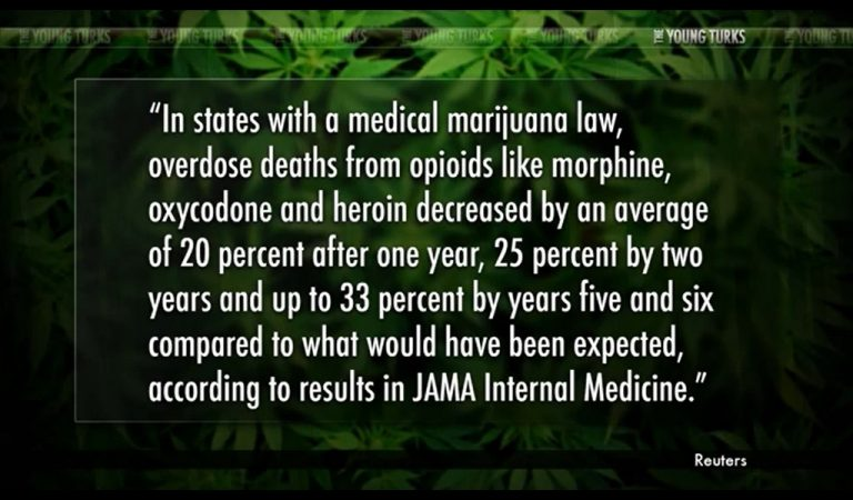 Study Shows Medical Marijuana Means Less Overdoses