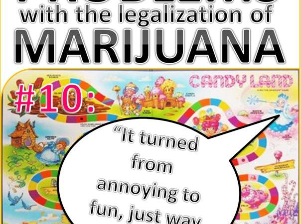 Problems with the Legalization of Marijuana #010
