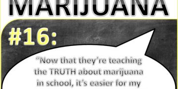 teaching truth about marijuana