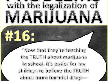 teaching truth about marijuana