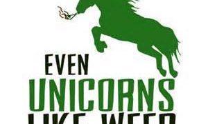unicorns love weed