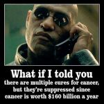 Matrix's Morpheus cancer cures