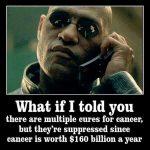 Matrix's Morpheus cancer cures