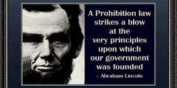 abraham lincoln prohibition quote