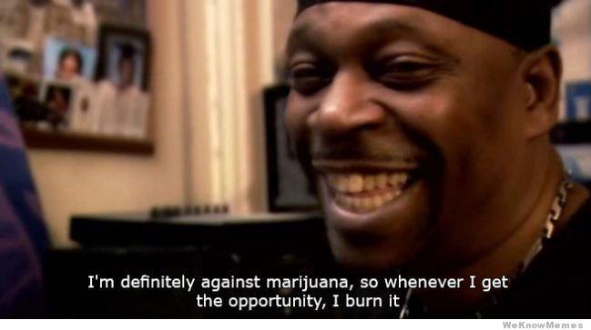 Against Marijuana meme