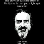 alan watts cannabis side effects quote