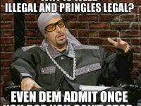 ali g illegal weed pringles