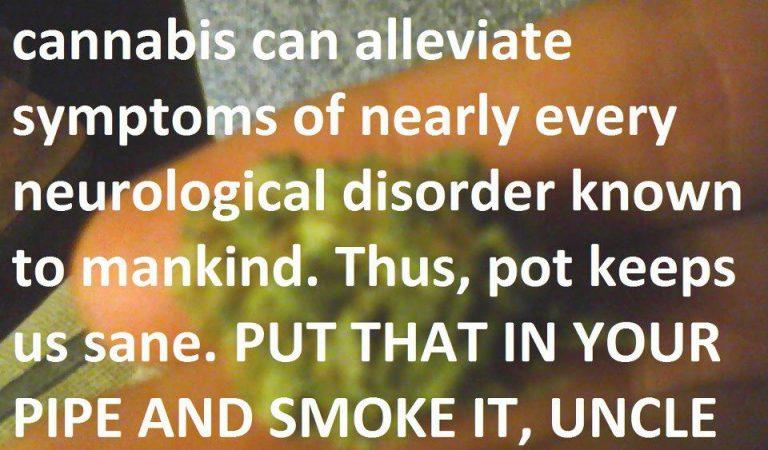 Marijuana Can Alleviate Symptoms Of Neurological Disorders