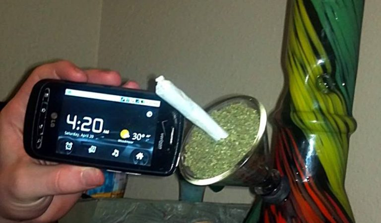It's always 420 in my house