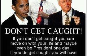 Don't get caught! american president weed pot meme