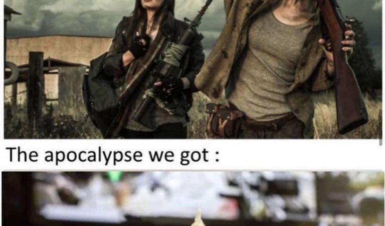 Apocalypse expectation v reality