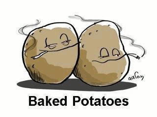 potatoe baked stoned