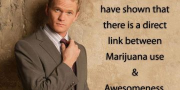 awesomeness marijuana Barney Stinson