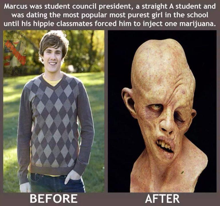 injecting marijuanas effects