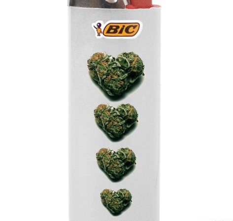 Bic lighter With Buds