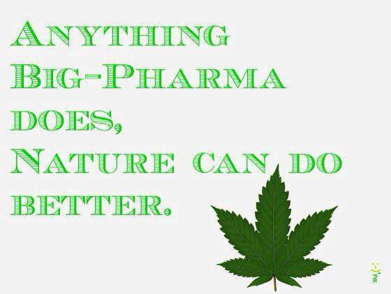 Anything big pharma can do…