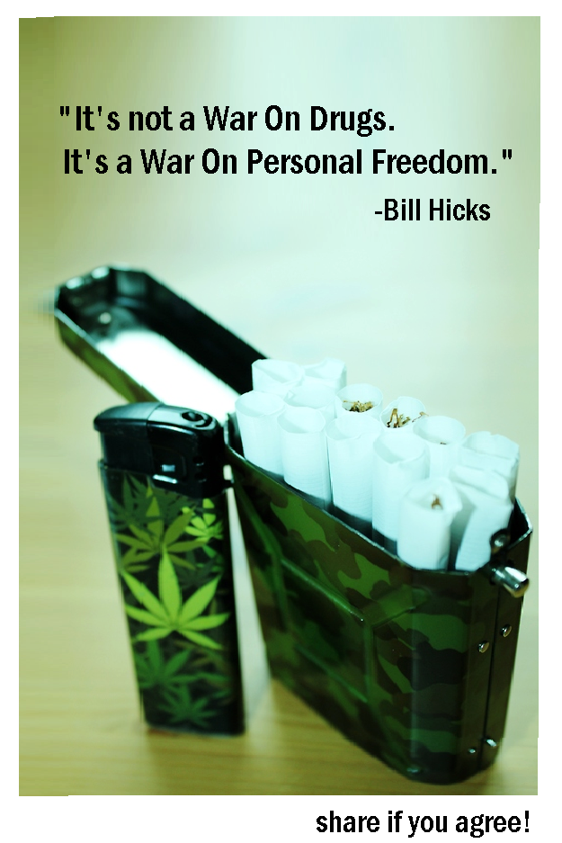 bill hicks war on drugs quote