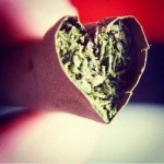 love blunts heart shaped