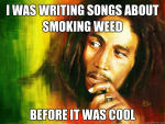 weed smoking songs bob marley meme