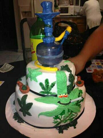 10 Cannabis Themed Cakes Perfect For Celebrating Herbs 10th Birthday