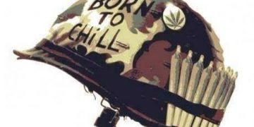 born to chill smoke weed no war