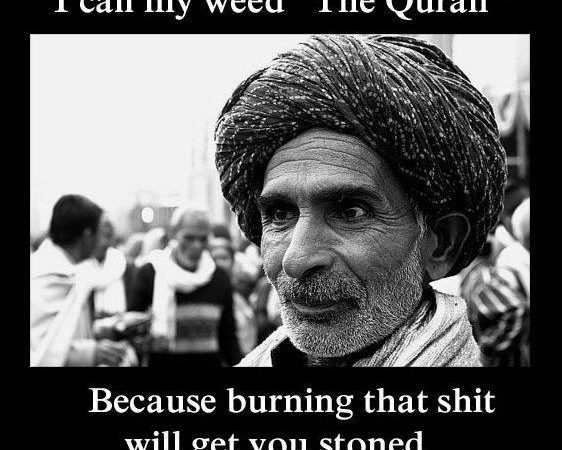 I call my weed the 'Quran'