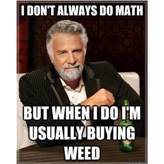 Most Interesting Man In The World Quotes: I Don't Always Do Math
