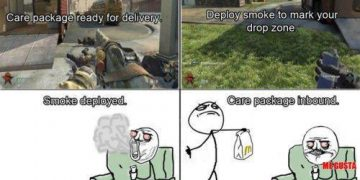 call of duty care package weed meme