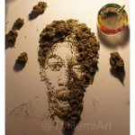 wiz Khalifa cannabis art