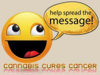 help spread the word cure cancer