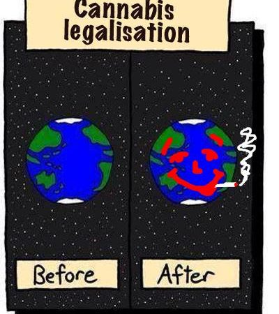 The World, Before And After Cannabis Legalisation