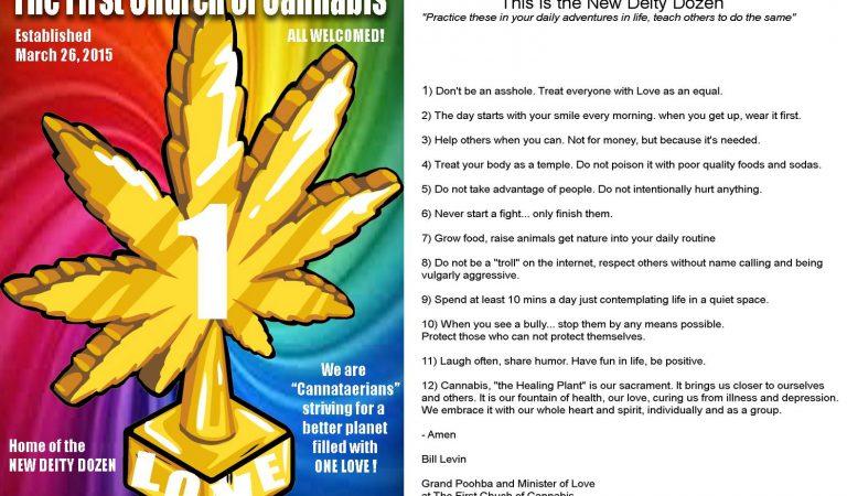 The First Church of Cannabis – 12 Commandments