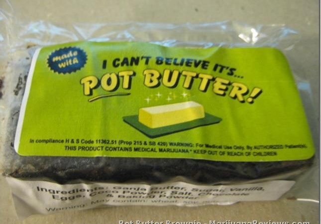 I Can't Believe It's Pot Butter