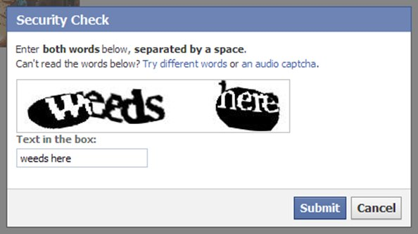 facebook captcha weed here