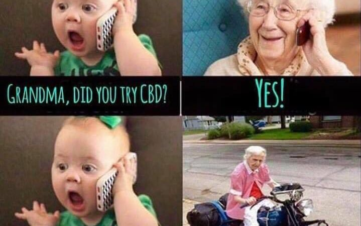 When your granny gets her CBD