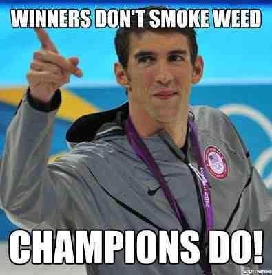 Winners Don't Smoke Weed, Champions Do