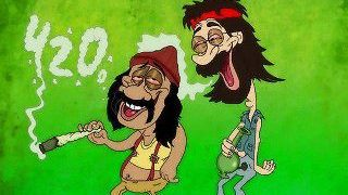 Cheech and Chong 420 Comic
