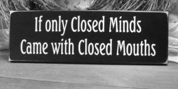 closed minds