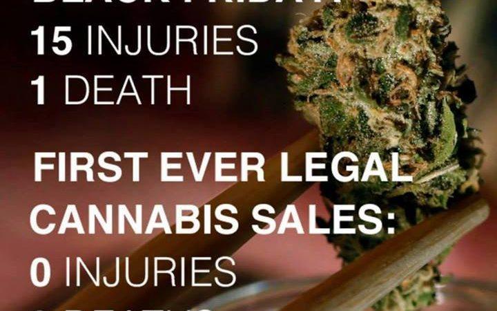 Black Friday V First Ever Legal Marijuana Sales